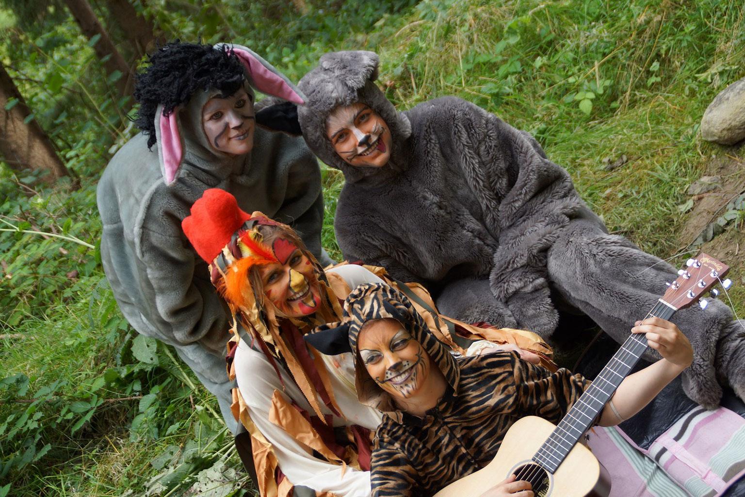 Sagen und m rchenfestival zauberwald for Alpina ka chen und badfarbe